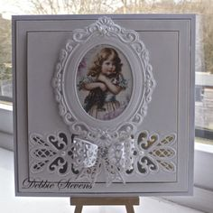Hi everyone, Well I have purchased some of the new Sue Wilson dies and I must say they are fabulous, really lovely and quite big. So on this card I have used the striplet lattice heart. and filigree 3