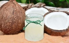 Virgin coconut oil is the oil extracted from coconuts without the application of heat. It is rapidly gaining popularity throughout the world in comparison to ordinary coconut oil and for a good reason Coconut Oil For Teeth, Coconut Oil For Dogs, Coconut Oil Uses, Organic Coconut Oil, Organic Soap, Coconut Oil Health Benefits, Benefits Of Organic Food, Castor Oil For Hair Growth, Hair Growth Oil
