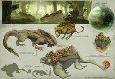 alien planet creatures - Google Search