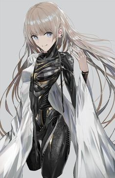 Safebooru is a anime and manga picture search engine, images are being updated hourly. Kawaii Anime Girl, Anime Art Girl, Manga Art, Fantasy Characters, Female Characters, Anime Characters, Cyborg Anime, Character Concept, Character Art