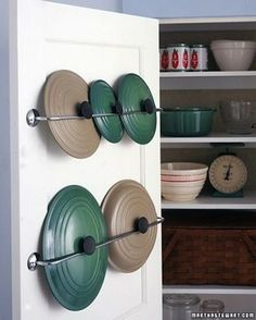 Whether you're tight on space or just want to get a little more organized, there are always new and ingenious ways to get storage space in your home. Here are 50 brilliant storage ideas that will make your home look both bigger and cleaner. Jewelry Organizer While you... #ideas #organize #space