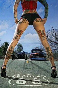 Badass Leg Tats.