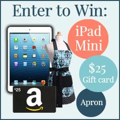 Enter to win an Ipad mini and The Ultimate Homemaking Bundle
