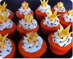 Orange prinsessen cupcakes koninginnedag gepind door www.hierishetfeest.com