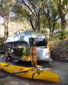 1970 airstream land yacht caravanner international mike mcfadden ventura california vintage. Black Bedroom Furniture Sets. Home Design Ideas