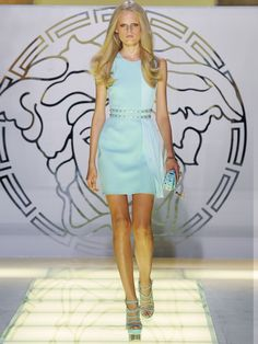 Women's fashion and accessories - SS 2012 - Fashion show collection - Versace 2012