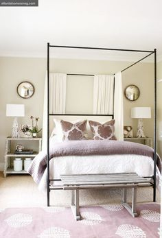 Canopy and Four Poster Beds - Elements of Style Blog