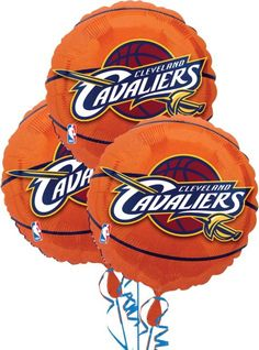 Cleveland Cavaliers Balloons 18in 3ct - Party City