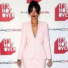 Rihanna in Vintage Chanel set $3,200