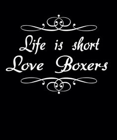 Do you love boxers? Follow us #welovedogs