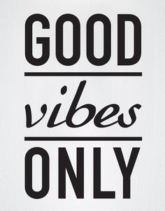 """- Decal #6011 - Wake up with """"Good Vibes"""" on your mind. - Different sizes are available. Email us and we will give you a fair price. - Some wall decals may come in multiple pieces due to the size of t"""