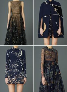 valentino Space Fashion, Look Fashion, High Fashion, Runway Fashion, Fashion Design, Space Theme Costume, Style Outfits, Pretty Outfits, Pretty Dresses