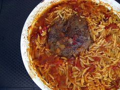 Arni Giouvetsi/Baked Lamb and Orzo