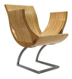 Cup Chair By Shinerinternational: Made Of Stacked Birch Plywood And Carbon  Stee. #Chair. Stuhl BankModerne ...