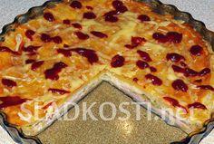 Šunkový koláč se sýrem Pizza, Desserts, Food, Tailgate Desserts, Deserts, Essen, Dessert, Yemek, Food Deserts