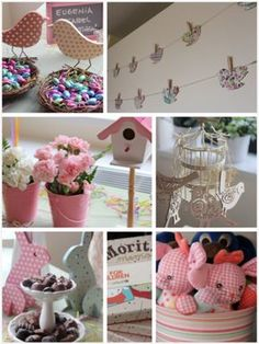Little girl's spring birthday party Bird Theme Parties, Bird Birthday Parties, Bird Party, Kids Party Themes, Party Ideas, Baby Girl First Birthday, 2nd Birthday, First Birthdays, Baby Shower