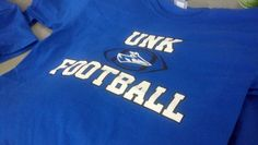 UNK University of Nebraska Kearney Football - MIAA - Division 2 - t-shirt - design - screen print - Kearney,NE - Shirt Shack www.shirtshackkearney.com