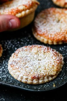 The best mince pies are these Frangipane Mince Pies with homemade pastry - serve warm or cold for a delicious traditional Christmas snack. #mincepies #frangipane #christmasfood Christmas Snacks, Xmas Food, Christmas Cooking, Christmas Cakes, Christmas Hamper, Christmas Entertaining, Christmas Christmas, Christmas Ideas, Best Mince Pies