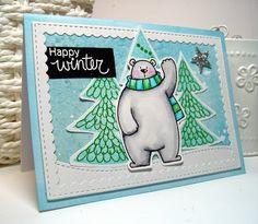 Scrapcolour: Happy winter..