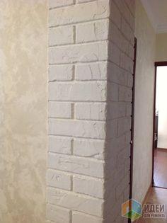 Имитация кирпичной кладки, как сделать кирпичики на стене