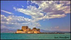 Castle at Navplion, Greece. #Europe #Mediterranean #Cruise