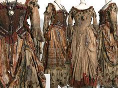 Tia Dalma style pirate-ish dress?