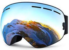ZIONOR Lagopus X Ski Snowboard Goggles Full Mirror Coated Lens Spherical Lens UV Protection Anti-fog Detachable Strap Snowboard Goggles, Ski Goggles, Ski And Snowboard, Best Snowboards, Summer Vacation Spots, Ski Equipment, Fun Winter Activities, Alpine Skiing, Winter Hiking
