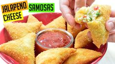 Jalapeno Cheese Samosa Recipe | Indian Cooking Recipes | #CookwithAnisa | Ramadan Recipes 2017 - YouTube