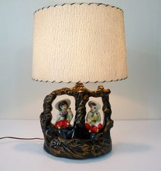 Vintage Mid Century Asian Boy & Girl Ceramic TV by TheLampEmporium Asian Boys, Table Lamps, Mid Century, Ceramics, Tv, Vintage, Home Decor, Ceramica, Lamp Table