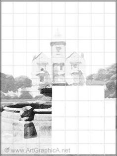 Using grids and view finders in drawing