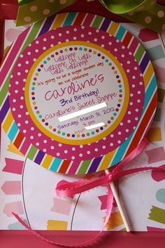 Love this invitation - plus other cute ideas