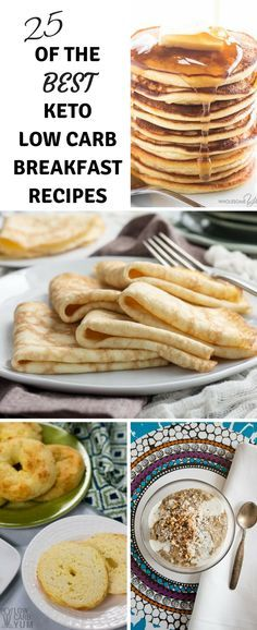 25 of the Best Keto Low Carb Breakfast Recipes #lowcarb #breakfast #keto #trimhealthymama