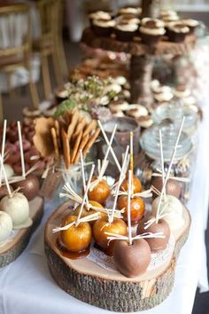 Great way to display food/catering