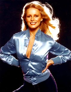 "Cheryl Ladd. This is the 45 cover for""Think It Over."" better known for her actress role on Charlie's Angels"