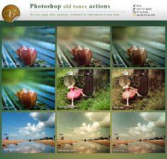 Photoshop actions old tones by lieveheersbeestje.deviantart.com on @deviantART