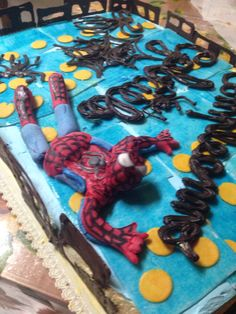Torta spidermen pdz