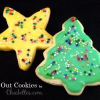 Cut-Out Sugar Cookies with Frosting Recipe
