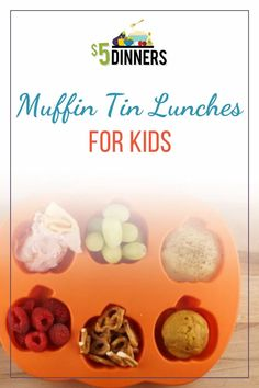 Looking for a fun way to serve lunch to your children – or even to yourself?! Try the muffin tin lunch! It's the perfect way to get a variety of healthy foods onto your plate, while also using up a bunch of items you already have in the fridge
