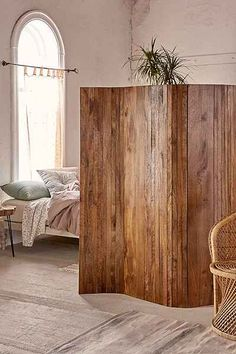 Superieur Amber Carved Wood Room Divider Screen