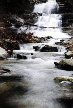 Kent Falls. Very sweet spot....... Love scrambling around the falls ;)