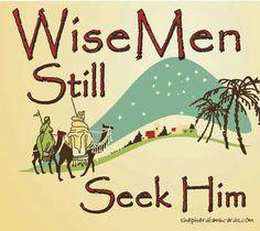 Wise men..