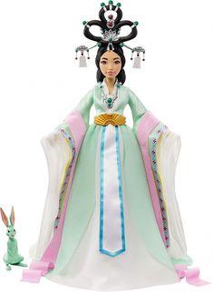 Chinese Gown, Jade Rabbit, Jessie Toy Story, Moon Drawing, Mattel Dolls, Moon Goddess, Princess Zelda, Sailor Princess, Baymax