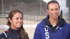 United States beach volleyball pair Brooke Sweat and Lauren Fendrick talk to TODAY's Matt Lauer about competing in the 2016 Rio Olympic Games.