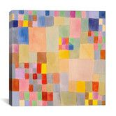 "Found it at AllModern - ""Panoramic Flora on the Sand"" by Paul Klee Graphic Art on Canvas"