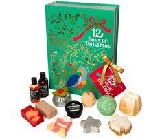 Idée cadeau cool   Le livre de surprises de Noël de Lush