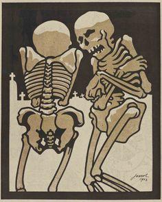 Los resfriados de Jossot (L'Assiette au Beurre, 1904) – e-imagen