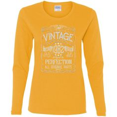 Vintage Aged To Perfection 1982 - 36th Birthday Gift T-shirt