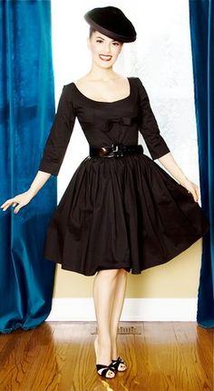 via http://lookbook.nu/look/1415387-Bernie-Dexter-Grace-Dress