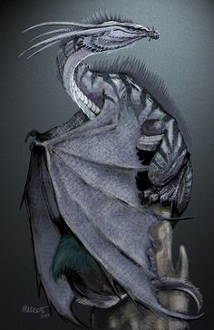 Nickel Dragon by Stanley Morrison