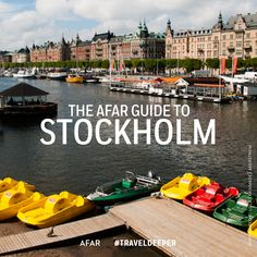 Easily Scandinavia's most beautiful capital, Stockholm is an exemplary mash-up of creative and eco-friendly lifestyles, innovative startup companies, a flourishing indie music scene, a hipster café culture, and an undying love for the outdoors due to its vast archipelago and proximity to water.